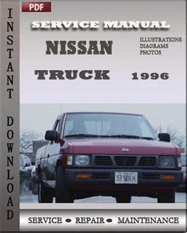 Nissan Truck 1996 Repair Manual Pdf Online