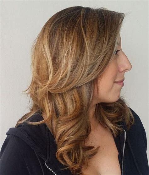 medium brown hair lowlights medium brown hair color with blonde highlights hairs