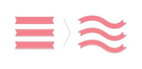 vector ribbon tutorial create a simple ribbon brush in adobe illustrator every