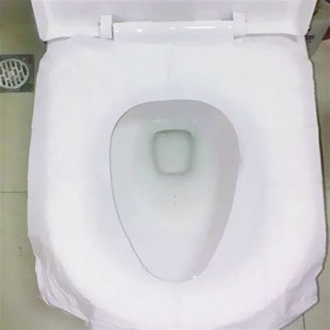 disposable toilet seat covers in store 10pcs bag disposable paper toilet seat covers travel