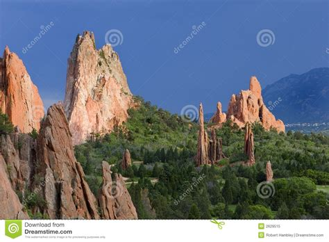 Garden Of The Gods Rock Formations Garden Of The Gods Royalty Free Stock Photo Image 2629515
