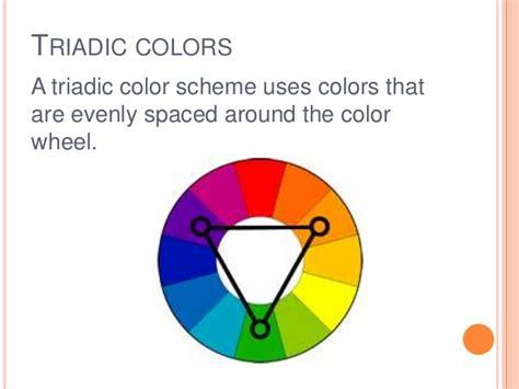 triadic colors definition colorwheel colorscheme