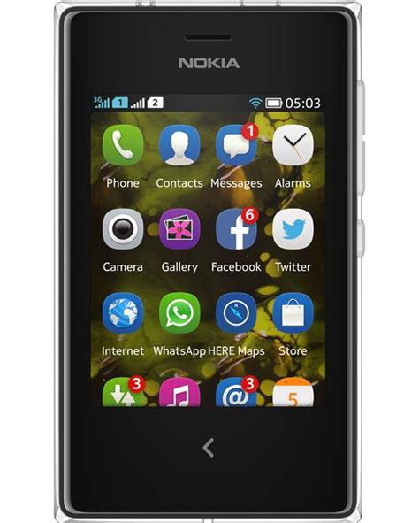 Hp Nokia Asha 503 Di Indonesia nokia asha 503 dual sim phone photo gallery official photos