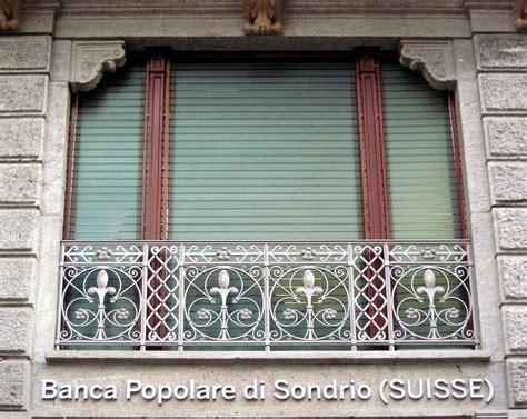 popolare di sondrio suisse window facade popolare di sondrio suisse photograph