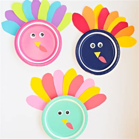 colorful turkey colorful turkey craft family crafts