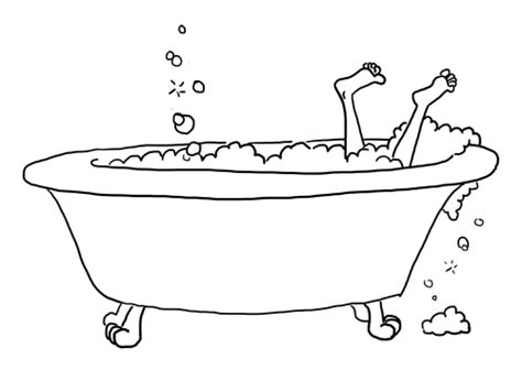 how to draw bathtub bathtub sketch karen b jones