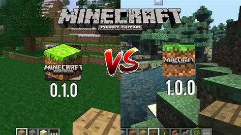 what is the full version of minecraft pe primera version de minecraft pe vs minecraft pe 1 0 0