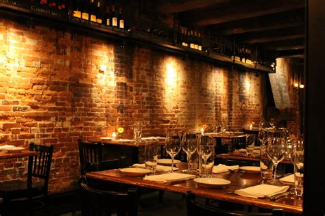 exposed brick wall lighting indulge inspire imbibe portsmouth restaurant week black
