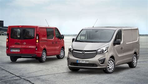 opel movano 2016 2015 opel vivaro commercial van revealed gm authority