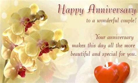 Wedding Anniversary Wishes To A Wonderful by Wonderful Greetings Anniversary Wishes For Best