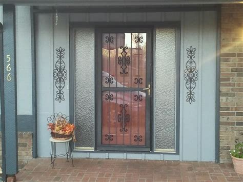 Best Security Doors For Front Doors 17 Best Images About Exterior Ideas On Iron Doors Interior Doors And Deco