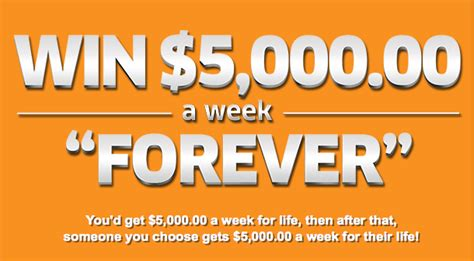 Win For Life Sweepstakes - house of sweepstakes pchcom 5000 a week for life upcomingcarshq com