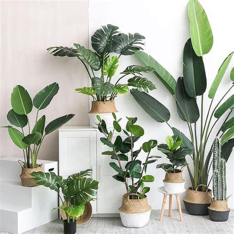 home decor plants artificial plants green turtle leaves garden home decor 1