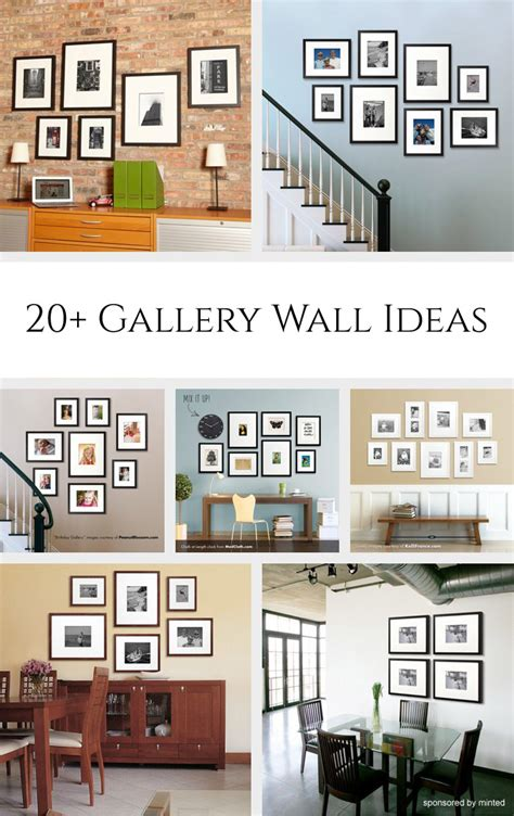 picture gallery ideas 20 gallery wall ideas
