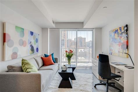 One Bedroom Bachelor Downtown Toronto luxury apartments in dundas square toronto velocity at