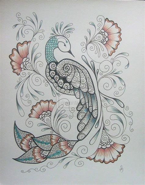 beautiful peacock tattoo designs henna peacock 3 by msboyd on deviantart