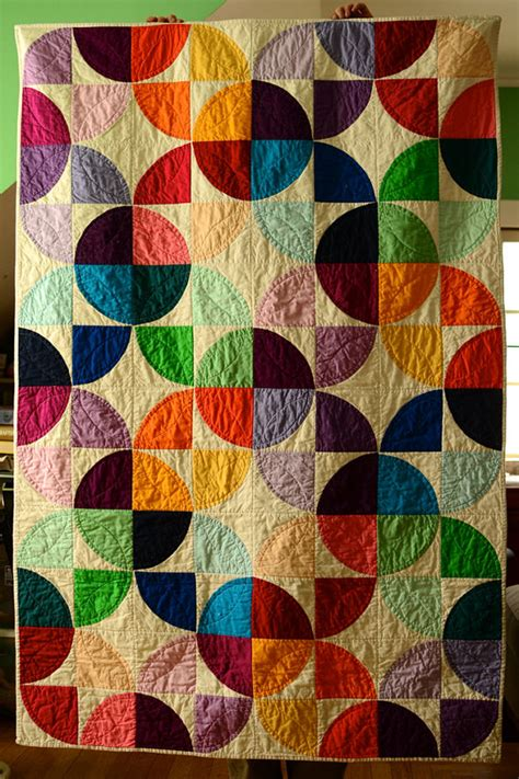 quilt pattern etsy modern drunkards path quilt pdf pattern by sotosewn on etsy