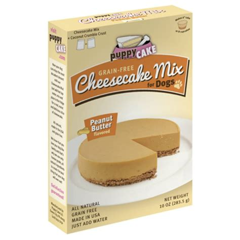 cake mix for dogs cheesecake puppy cake mix treat peanut butter baxterboo