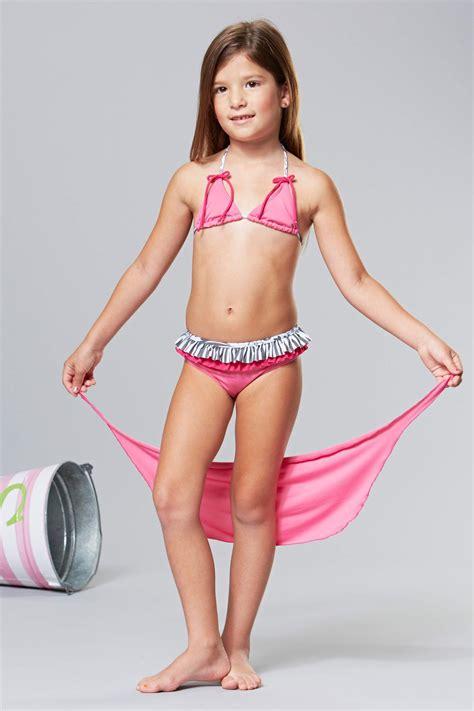 lola pre very young models sweet lola pink bows halter bikini sarong set toddler