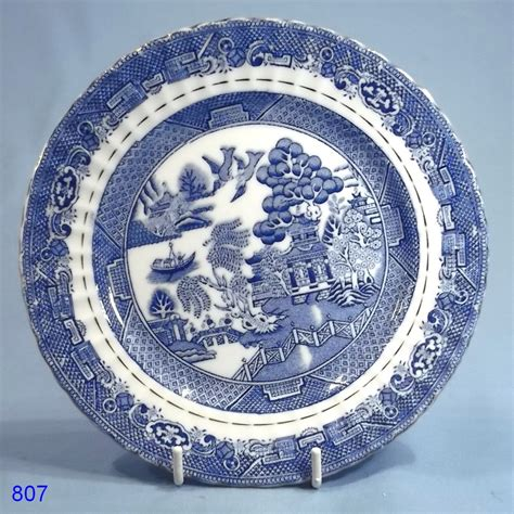 classic china patterns bell china vintage willow pattern tea plate collectable china