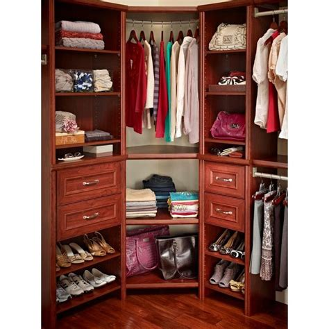 Closetmaid Corner Shelf Unit Home Depot For Corner Master