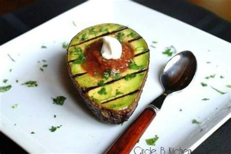 grilled avocado foods pinterest