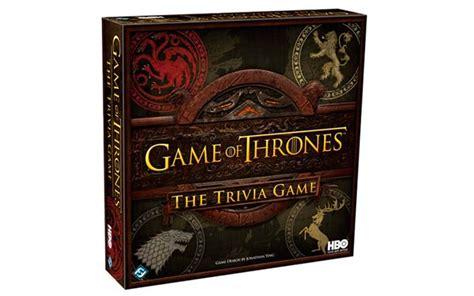 preguntas trivial juego de tronos juego de tronos hbo lanza un juego de mesa que mezcla
