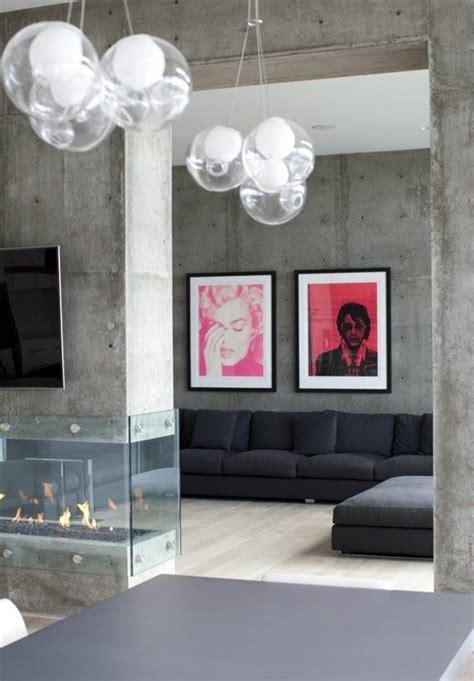 Decke Und Wand Gleiche Farbe by Wandfarbe Beton Wie Kann Eine Betonwand Streichen