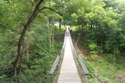 swinging bridges swinging bridge columbus junction iowa travel advisor