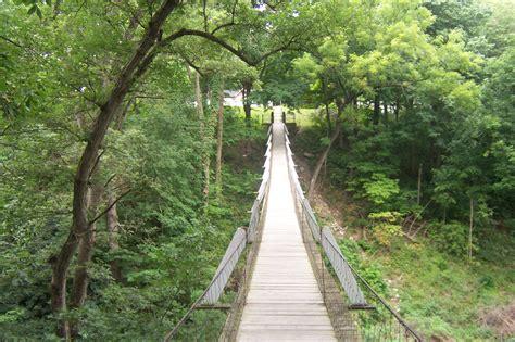 the swinging bridge swinging bridge columbus junction iowa travel advisor