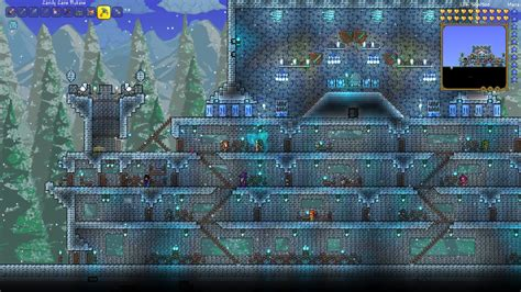 How To Draw A Room Layout pc ice castle build terraria community forums