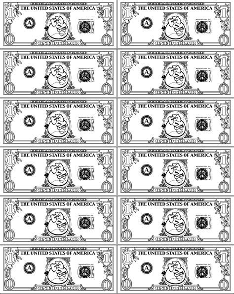 free printable fake play money printable play money for kids activity shelter