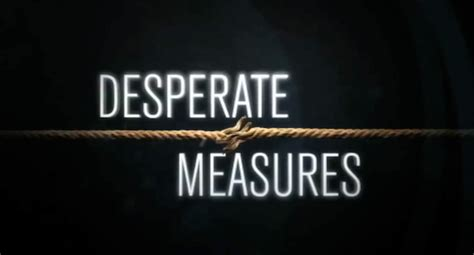 Desperate Measures bam and the discovery channel go to quot desperate measures