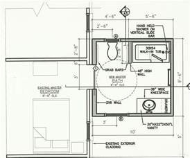 Accessible Home Design Guidelines Wheelchair Accessible Bathroom Floor Plans Bathroom Design