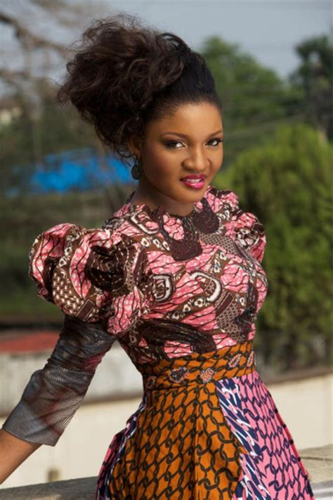 nigeria actress hair styles omotola jalade s photo collection african beauty series