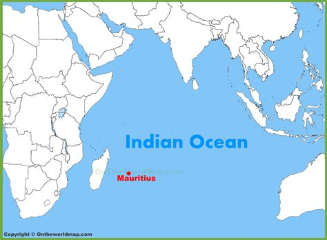 mauritius on a world map mauritius location on the indian map