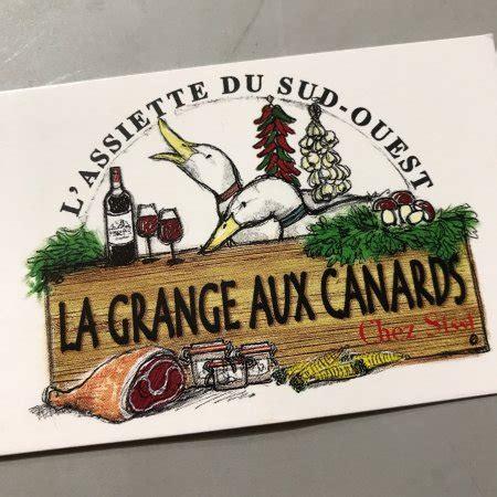 La Grange Aux Peres by Inside The Restaurant Photo De La Grange Aux Canards