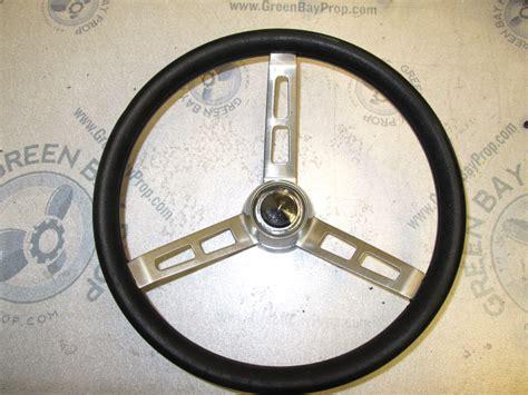 tapered boat trailer fenders vintage boat stainless steel 14 in steering wheel 3 spokes