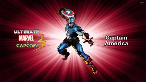 ultimate captain america wallpaper captain america ultimate marvel vs capcom 3 wallpaper