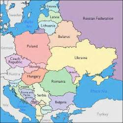 Map Of East Europe by Journalism In Eastern Europe Who Controls The Media