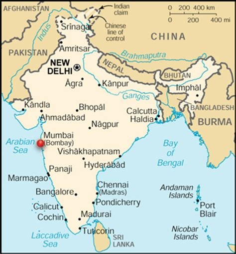 where is mumbai on the world map mumbai india