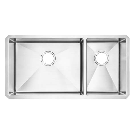 american standard pekoe undermount stainless steel 35 in