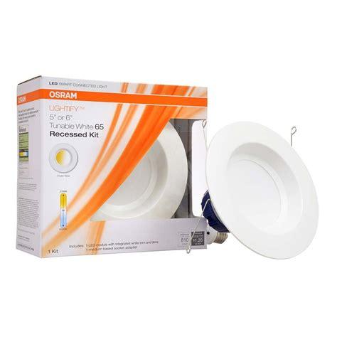 Led Recessed Light Bulb Sylvania Osram Lightify 65w Led Recessed Smart Home 2700 6500k White Light Bulb Ebay