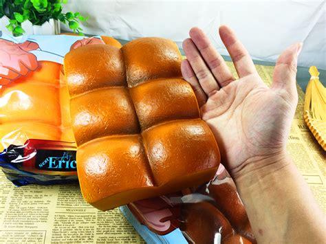 squishy roti sixpack eric 25cm six packs abs style bread jumbo squishy