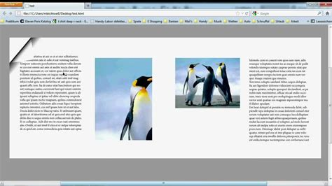 tutorial adobe indesign cs5 pdf zum bl 228 ttern indesign cs5 tutorial page flipping youtube