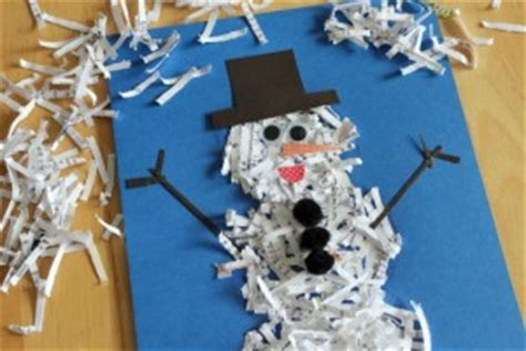 Crafts With Shredded Paper - 5 sensory crafts assistive technology at