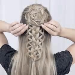 best 25 braid ideas on flower hairstyles flower braid and hairstyle