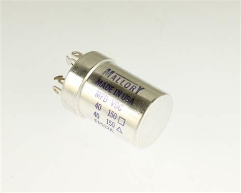 large aluminum electrolytic capacitors fp212a mallory capacitor 40uf 150v aluminum electrolytic large can twist lock 2020071560
