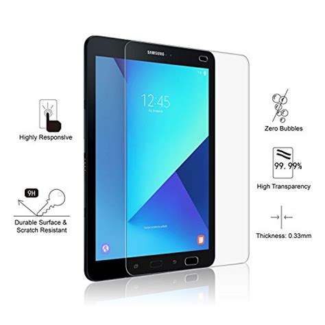 Tempered Glass Kingkong Samsung Tab 3 7in amfilm galaxy tab s3 s2 9 7 tempered glass screen protector import it all