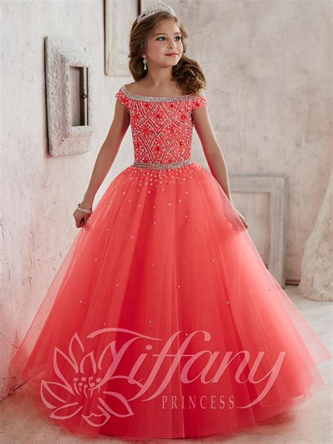 Dress Princes princess 13458 beaded bodice pageant dress